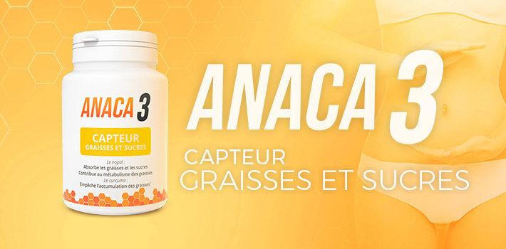 Avis Anaca3 capteur de graisses et sucres