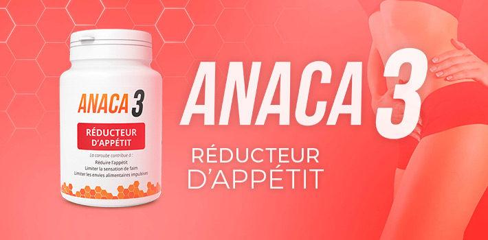 Anaca3 réducteur d'appétit complément alimentaire