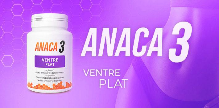 Anaca3 ventre plat : efficace contre les ballonnements ?