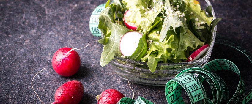 Recette de salade pour un régime frais