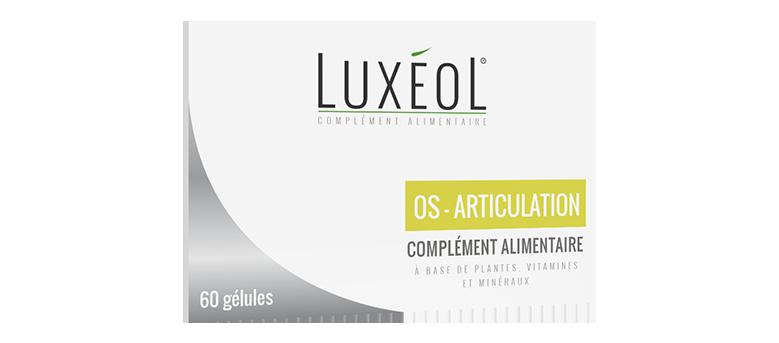 Luxéol Os-Articulation un complément alimentaire efficace