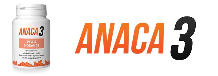Anaca3 Peau d'orange un complément alimentaire