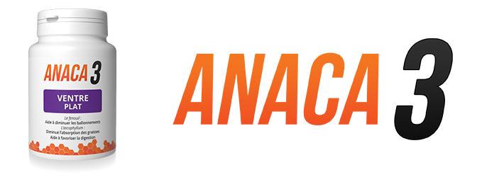 Anaca3 ventre plat efficace contre les ballonnements?