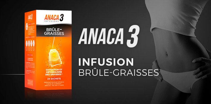 Anaca3 infusion brûle graisses : quelle est la composition