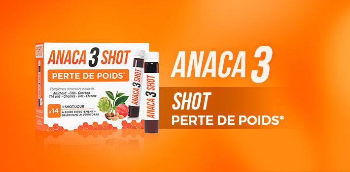 Anaca3 le shot perte de poids pour vous aider à perdre du poids